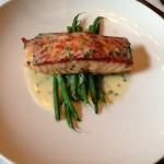 Pan Roasted Scottish Salmon with Haricot Vert